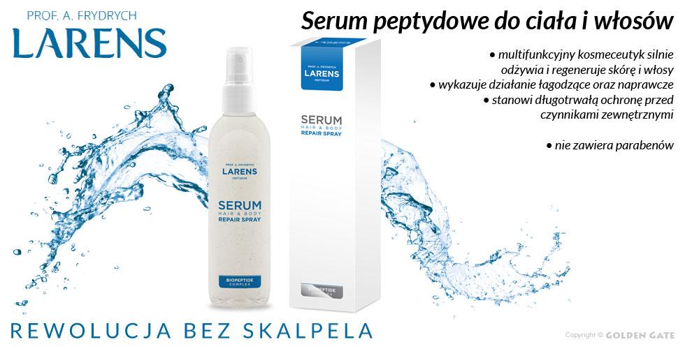 Serum do ciała i włosów Larens Peptidum Serum Hair Body Repair Spray